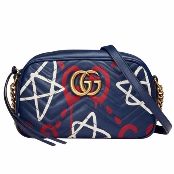 3d98aab488b Gucci Ghost Marmont Cross Body Bag